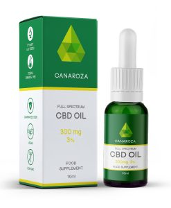 CBD Oil Drops (300mg / 3%)